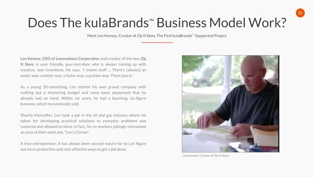 KulaBrands , Business , Model