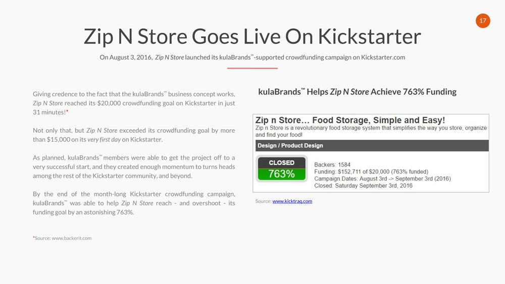 Zip, N, Store , Goes , Live , On , Kick , starter